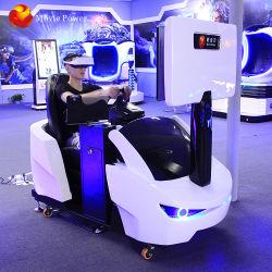 Realtà virtuale dell'automobile dell'interno di divertimento 9d della fabbrica di Vr che guida simulatore