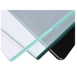 Feuille de verre trempé Prix bas Flat Bend panneau courbe pour douche de vitre de porte de 4 6 8 10 12 5mm épais Le verre trempé