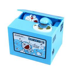Casella di risparmio dei fondi Doraemon del fumetto per il capretto