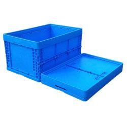 [60ل] رخيصة كبيرة يعبّئ تخزين قابل للانهيار بلاستيكيّة صلبة صندوق وعاء صندوق