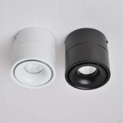 12W LEDの天井ランプ調節可能なトラックライト装飾の穂軸Downlight