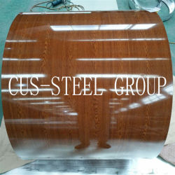 تصميم الزهرة من الطوب الرخامي المموه من تصميم PPGI PPGL الخشب المطلى مسبقًا ملف صلب مطبوع