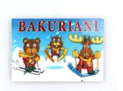 卸し売りジョージアBakurianiの漫画の樹脂冷却装置磁石の印字機