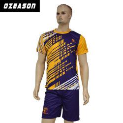 2017枚の専門家最新のデザイン方法チームサッカーのユニフォームキット(S023)