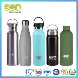 China-Großhandelsdoppelt-Wand-Edelstahl-Starbucks-Trommel-Wasser-Flaschen-Arbeitsweg-Becher-Cup-Thermos Isolierwasser-Flasche