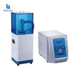 جهاز الموجات فوق الصوتية غير الملامسّ بالموجات فوق الصوتية للحصول على عينات مجانسة من العينات المجعّدة