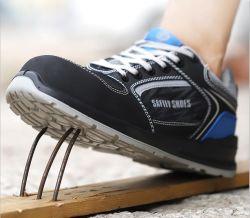 Proteger tu pie ligero y resistente a la penetración de las uñas Zapatos de seguridad de trabajo