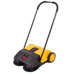 Kleine Spray-Staubbekämpfung-elektrische manuelle Fußboden-Kehrmaschine