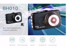 Meilleur taille Mini HD 1080P de la lecture en temps réel du véhicule double lentille Blackbox DVR