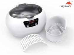 600ml Mini nettoyeur ultrasonique de ménage 5 intervalle de temps Touche tactile