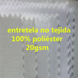 Scrivere tra riga e riga fusibile non tessuto di collegamento dell'obbligazione del Thermal dei vestiti accessori dell'indumento