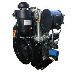 27HP Twin Cylindres refroidis par air moteur Diesel