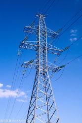 Transmisión de energía eléctrica Labondad Ángulo de la torre de acero galvanizado