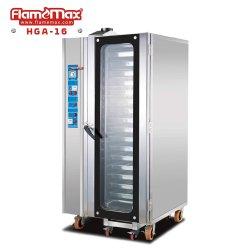 16 de gas de las bandejas de horno de convección/torta de pan/Pizza la cocción de alimentos panadería/máquina (HGA-16)