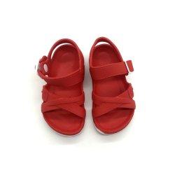 아이 주문 크기 로고 옥외 여름 열려있는 발가락 버클 샌들