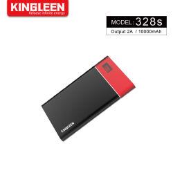 Портативные зарядки 10000mAh Power Банка с ЖК-дисплеем, карман внешнего аккумулятора зарядное устройство Power Pack телефона зарядные устройства с 2 портами USB для iPhone и Android устройства
