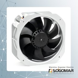 Heißer Verkaufs-prüfender Ventilator 225X225mm Terminal-Verbinder Wechselstrom-220-240V