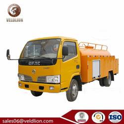 Elevada eficiência, Dongfeng de sucção e descarga rápida e alta pressão de vácuo da bomba de água de esgoto jorrando Veículo de Limpeza
