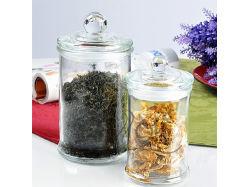 Commerce de gros pot de verre de stockage de cuisine /le récipient avec couvercle Clip/ bouteille/Verrerie