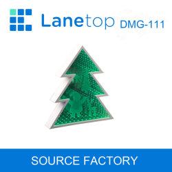 Casa del Árbol de Navidad decorativas LED de túnel de la cara del espejo de la luz de Motif