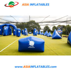 Inflatable Speedball Bunker, Paintball Champ d'air pour le jeu de tir