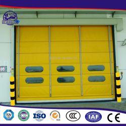PVC haute vitesse rapide de l'empilage de pliage rapide Rolling porte de sécurité
