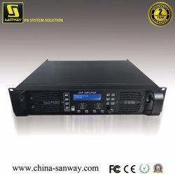 D10q 4CH digital profissional de Alta Potência do Amplificador de altifalante de áudio DSP para toda a gama de altifalantes de matriz de linha e sistema de som
