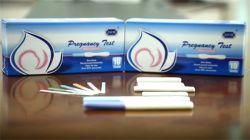 CE FDA 510K OEM de suministros médicos de la aprobación de David Un Paso Rápido Test de Embarazo