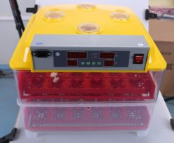 نموذج أكثر سخونة! VA-96 حمل 96 بيض الدجاج المهنية والكفاءة العالية آلة تكعيبية الدواجن للبيع