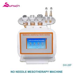 Newest 4 en 1 Pas de serrage de la peau bio RF de l'aiguille d'électroporation mésothérapie face à soulever la machine