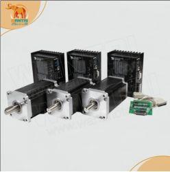 USA gratuit ! Wantai 3 un moteur pas à pas Xis NEMA 42 110bygh201-001 4200oz-in+conducteur Dq 7.0A2722m 220V 300micro CNC Router broderie