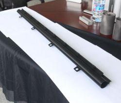 Тайваньских производителей OEM штампованный алюминий профиль обработки/поворота/формирование/аксессуары для перфорации /алюминиевых Car шторки канал