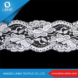 Het Nylon Elastische Kant van uitstekende kwaliteit van het Tricot Spandex