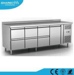 Edelstahl-Selbst-Closing Tür-Küche Undercounter Gefriermaschine