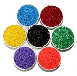 Samenstelling EVA van de Kleur van de Fluorescentie van de Acetaat van de Ethyleen van de Grondstof van het Copolymeer van de Korrels van het schuim de Plastic Middelgrote Vinyl