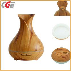 400ml hölzerne Bluetooth Musik-Aroma-Öl-Diffuser- (Zerstäuber)lampe mit Lautsprecher für Haus