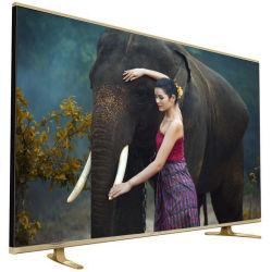 O OEM 50 Polegadas de liga de titânio rede integrada de televisão HD de vidro temperado SKD CBU DRC