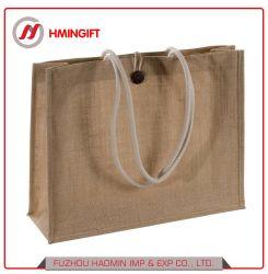 Toile de Jute naturel promotionnels personnalisés non tissées ou du sac shopping non tissé sac fourre-tout