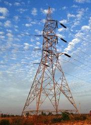 Gitter-Stahlübertragungs-Zeile 10kv-1100kv elektrische Übertragungs-Zeile Aufsatz