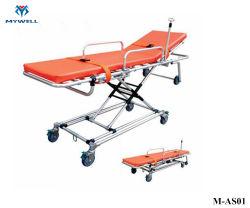 M-Comme02 fauteuil roulant en alliage aluminium pliable Dimensions de civière d'ambulance