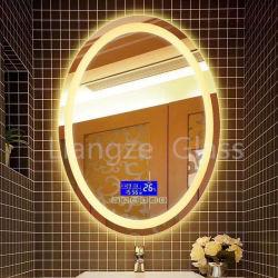DIY Form-Ausgangsinnenwand spiegelt LED geleuchteten Backlit Badezimmer-Spiegel wider