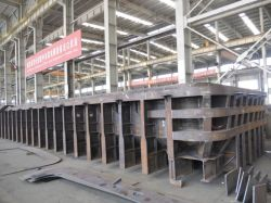 アルミニウム製錬所の鍋のシェル