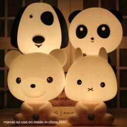 Мультфильм животных детский подарок кровати спальные ночная лампа ночного света