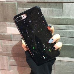 Bling Soft Phone Glitter cas Star couvrir Shining Étui en silicone pour iPhone