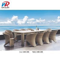 Piscina Mobiliário de Jardim Pátio Tabela de vime e cadeira Definir Cadeiras de praia