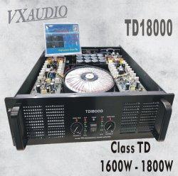 La clase Td nueva tecnología de alta amplificador de potencia 1800 W PRO (TD18000)