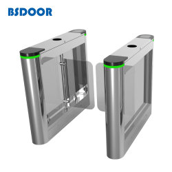 El control de acceso peatonal automática barrera Swing puerta Puerta de alta velocidad de torniquete