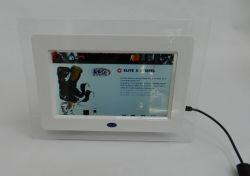 7inch marco de fotos digital de vídeo acrílico con Video Loop Play adecuado para la pantalla de cartón y acrílico