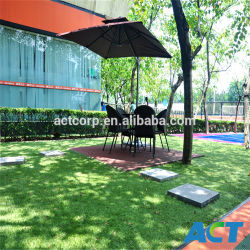 Jardín de césped artificial, césped, césped, césped paisajismo (L40).