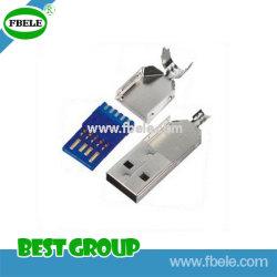 USB 2.0 USB/d'un bouchon à souder/câble/d'Ass'y/Version 3.0 Fbusb30-01-101